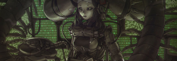 The Dark Sci-Fi Artworks of Tan Di