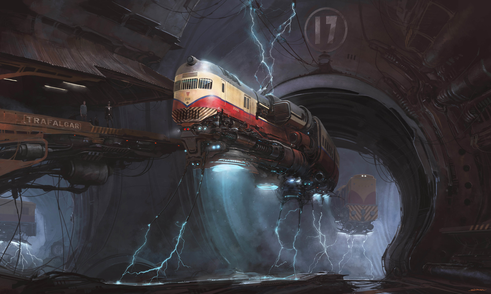 The Sci-Fi Illustrations of Alejandro Burdisio