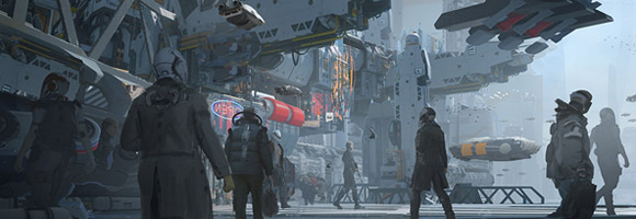 The Amazing Sci-Fi Art of Wadim Kashin