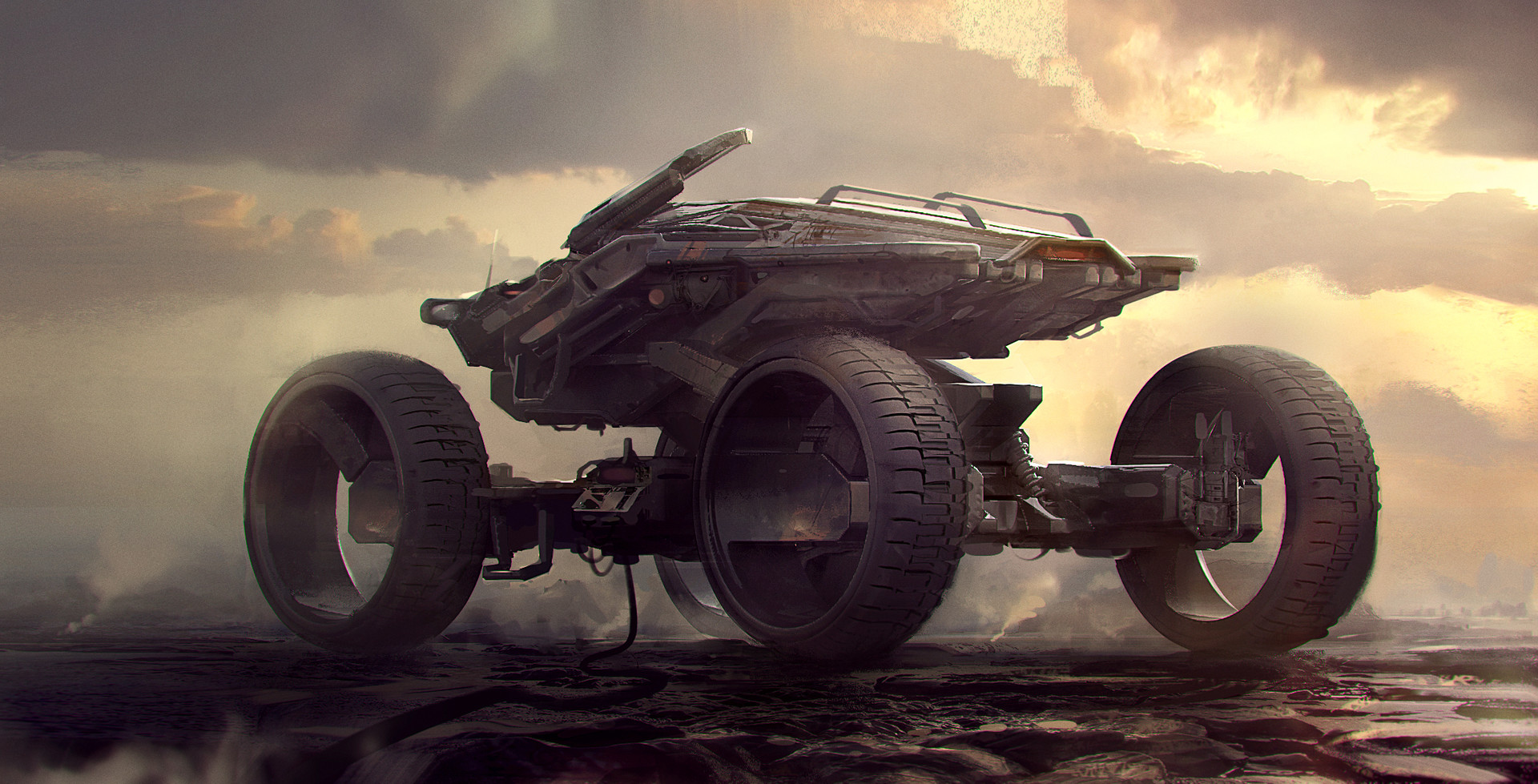 The Sci-Fi Concept Art of Arnaud Kleindienst