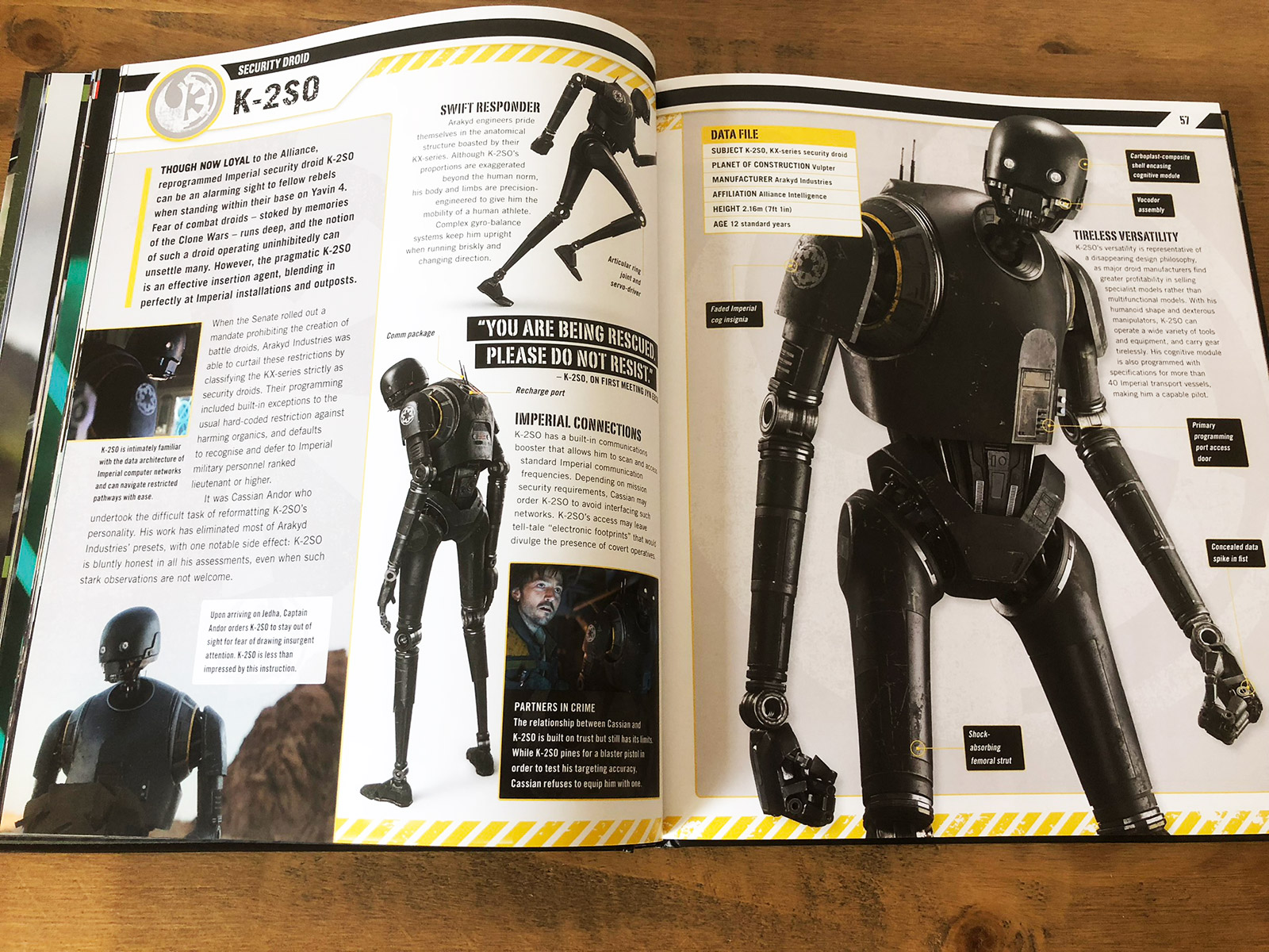 Star Wars Rogue One The Ultimate Visual Guide Review