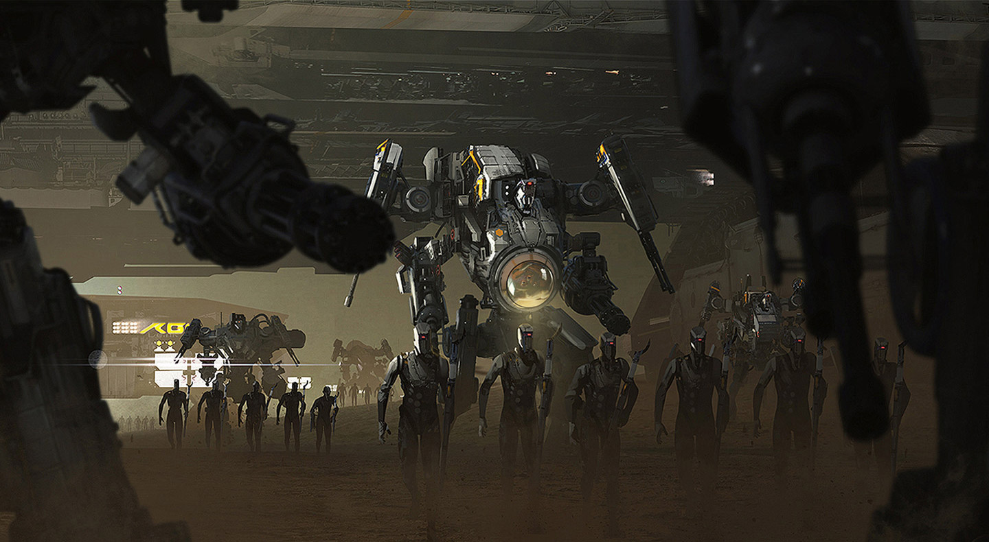 The Sci-Fi & Fantasy Concept Art of Greg Danton