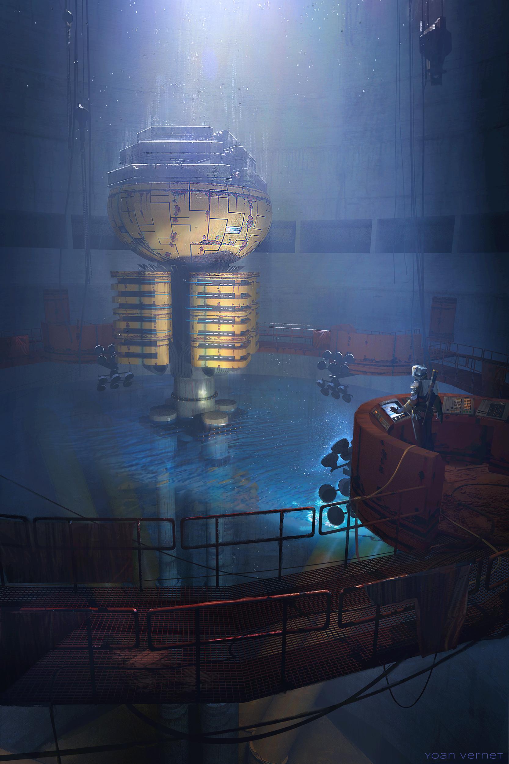 The Sci-Fi Concept Art of Yoan Vernet