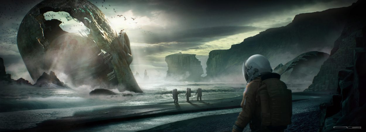 The Impressive Sci-Fi Art of Vincenzo Barkasy