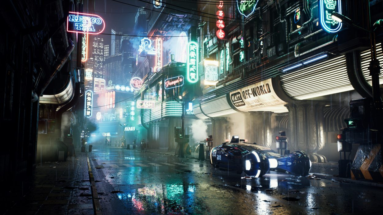 Blade Runner 3D Art + Video by Wiktor Öhman