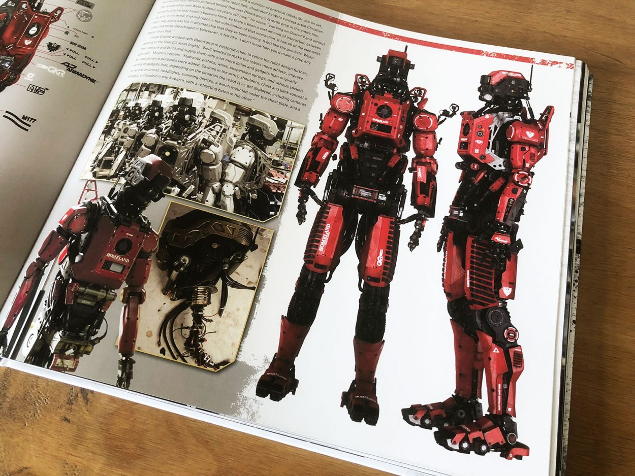 Elysium: The Art of the Film Book Review