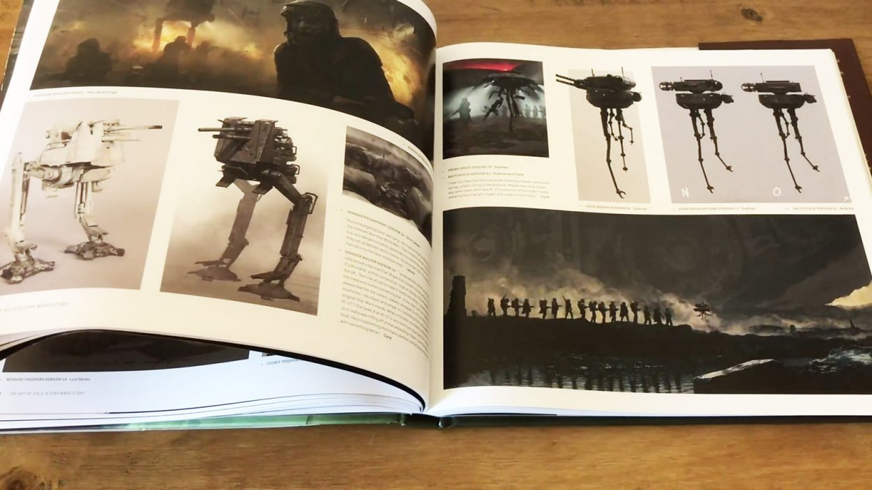 The Art of Solo: A Star Wars Story Book Review