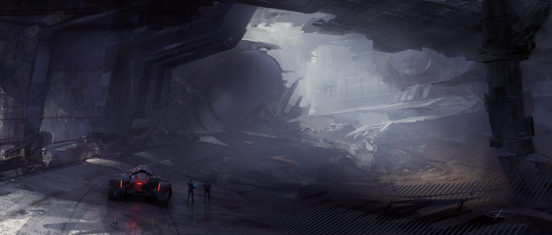 The Science Fiction Art of Maxim Revin