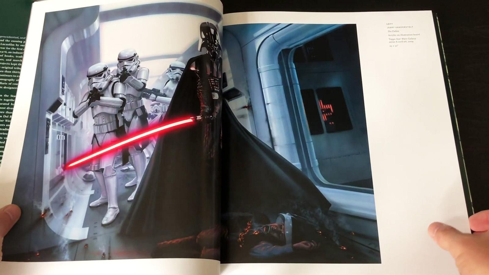 Star Wars Art: Illustration Book Review