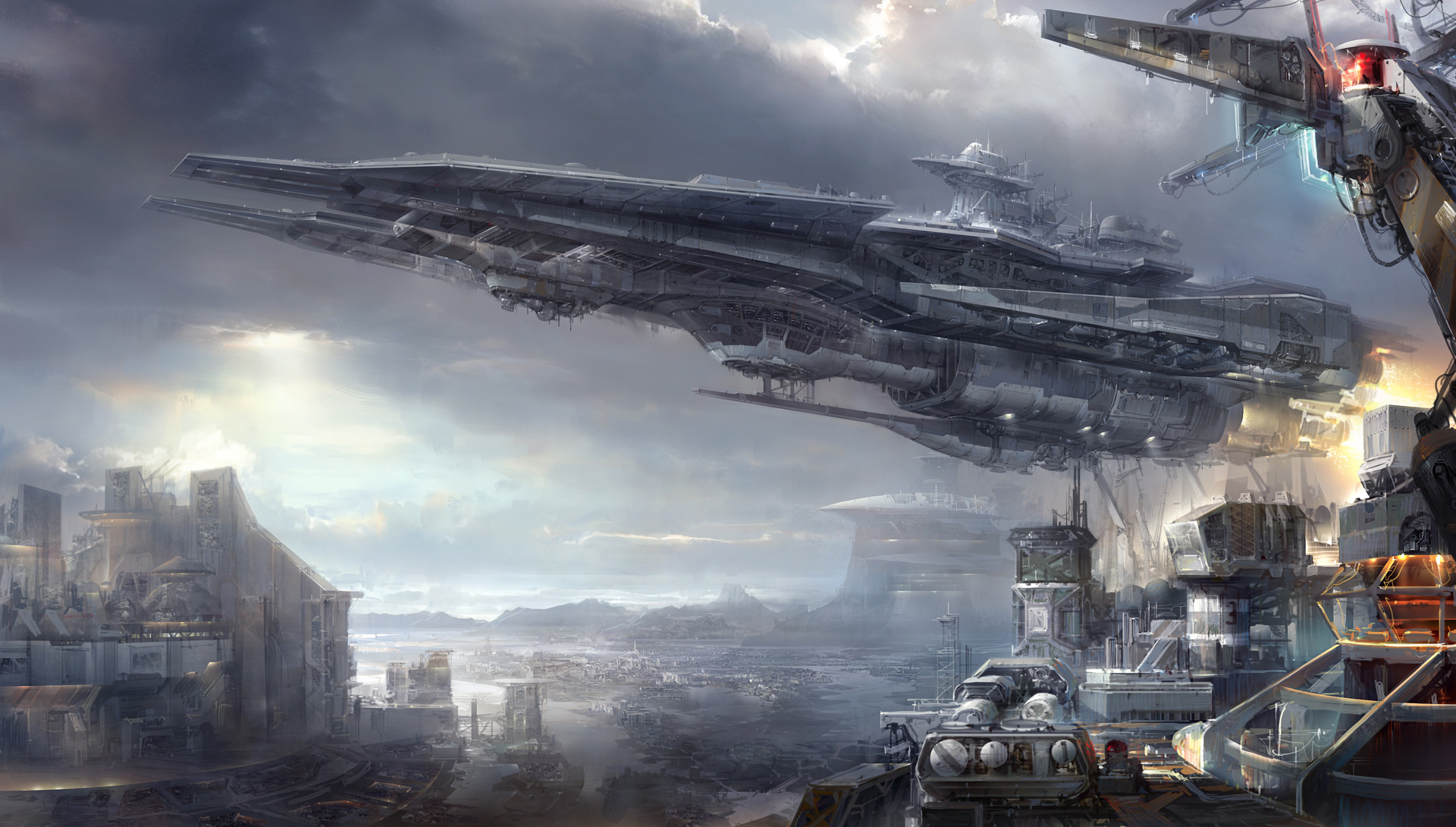 The Glorious Sci-Fi Art of Jae Cheol Park