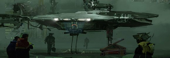 The Superb Sci-Fi Artworks of Yi Liu