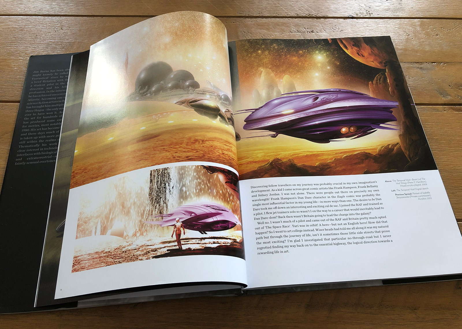 The Art of Jim Burns: Hyperluminal Book Review