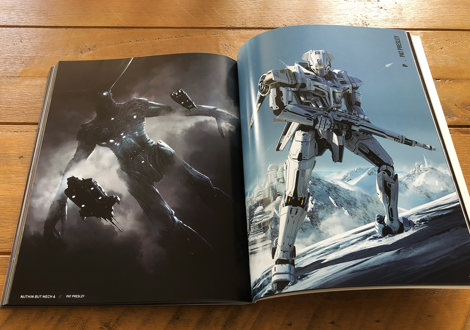 Nuthin' But Mech 4 Book Review