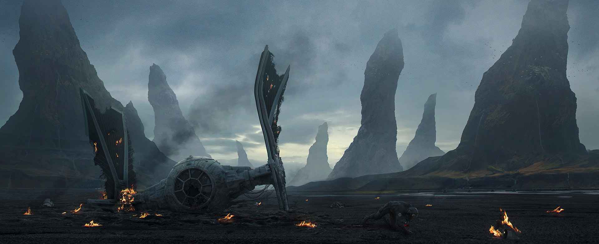 The Cinematic Sci-Fi Art of Nikita Pilyukshin