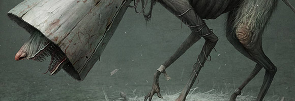 The Dark Fantasy Art of Anton Semenov