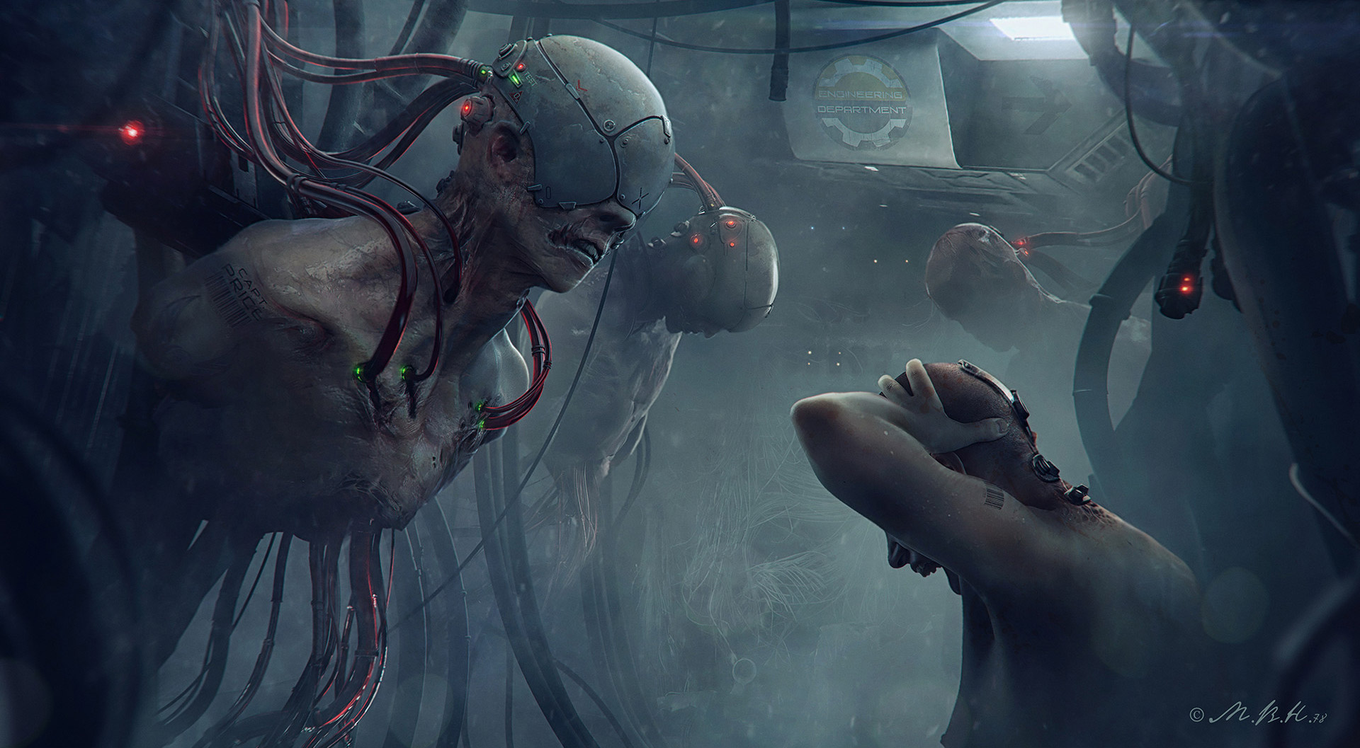 The Stunning Science Fiction Art of Vladimir Manyukhin