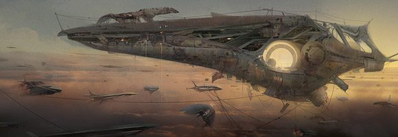 The Superb Sci-Fi Art of Hebron PPG