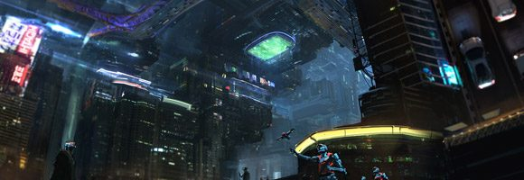 The Sci-Fi Concept Art of Mustafa Lamrani