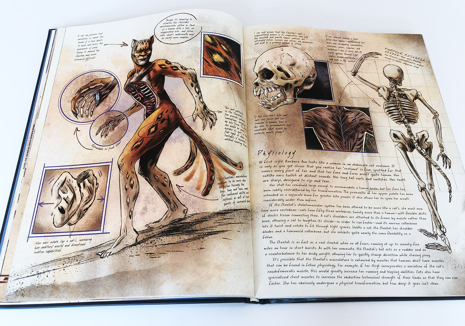 DC Comics: Anatomy of a Metahuman Book Review