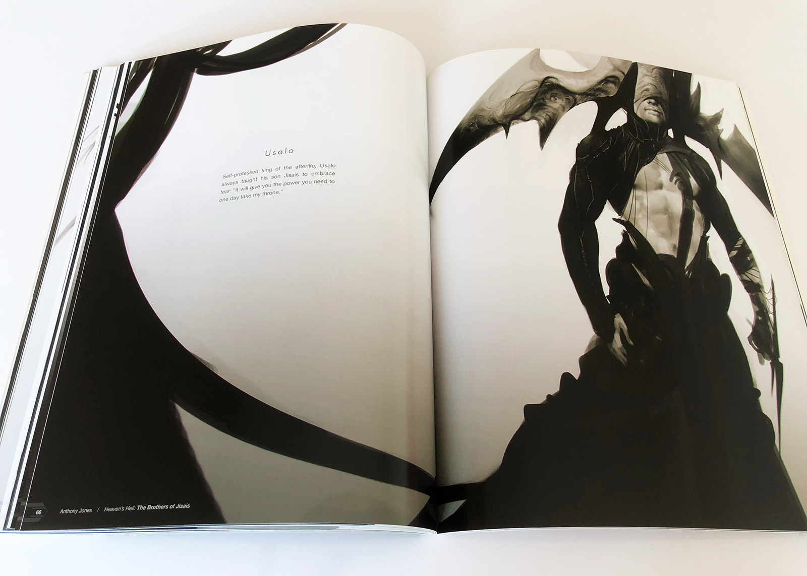 Heaven's Hell Art Book Review