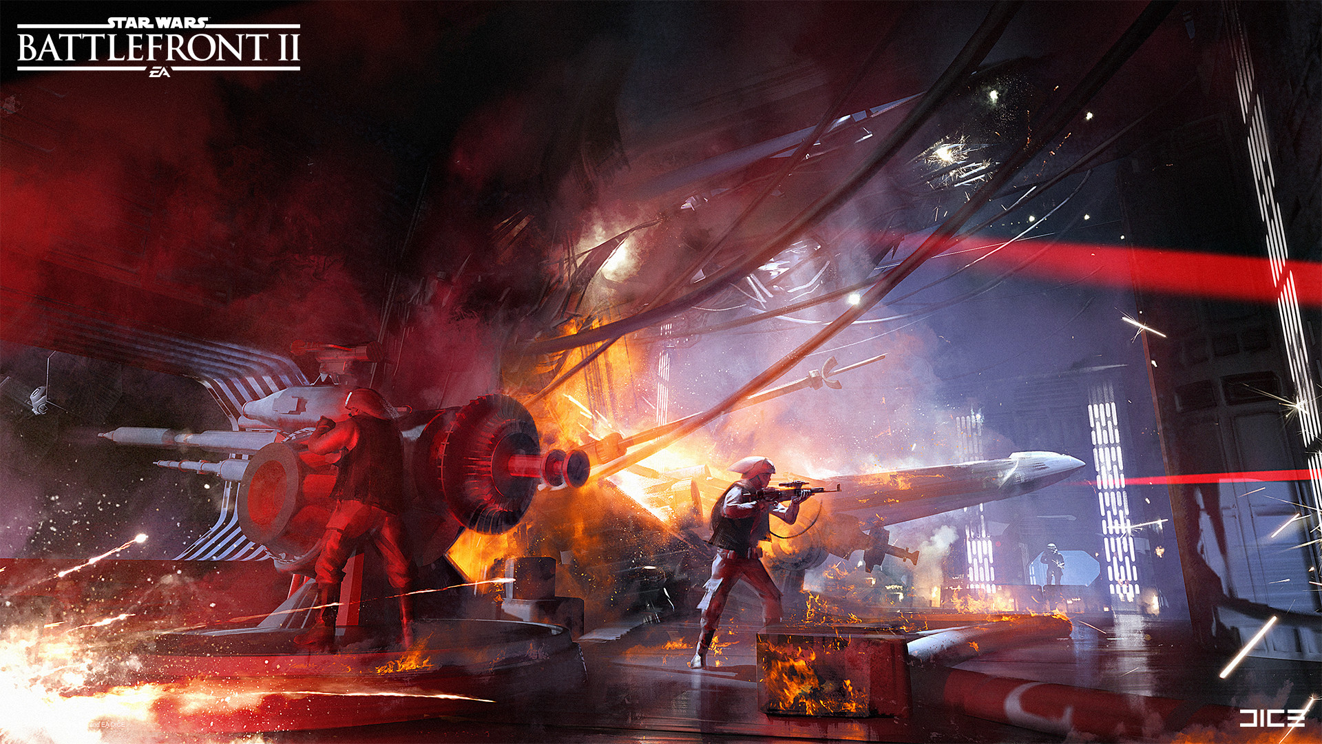 Star Wars Battlefront 2 Art by Anton Grandert