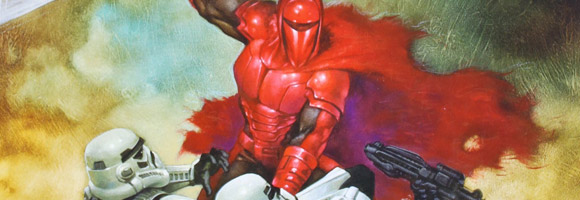Star Wars Art: Comics Book Review