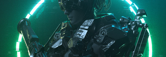 The Cyberpunk 3d Art of Gabriel Punsalang