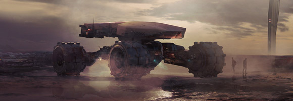 The Stunning Sci-Fi Art of Gary Sanchez