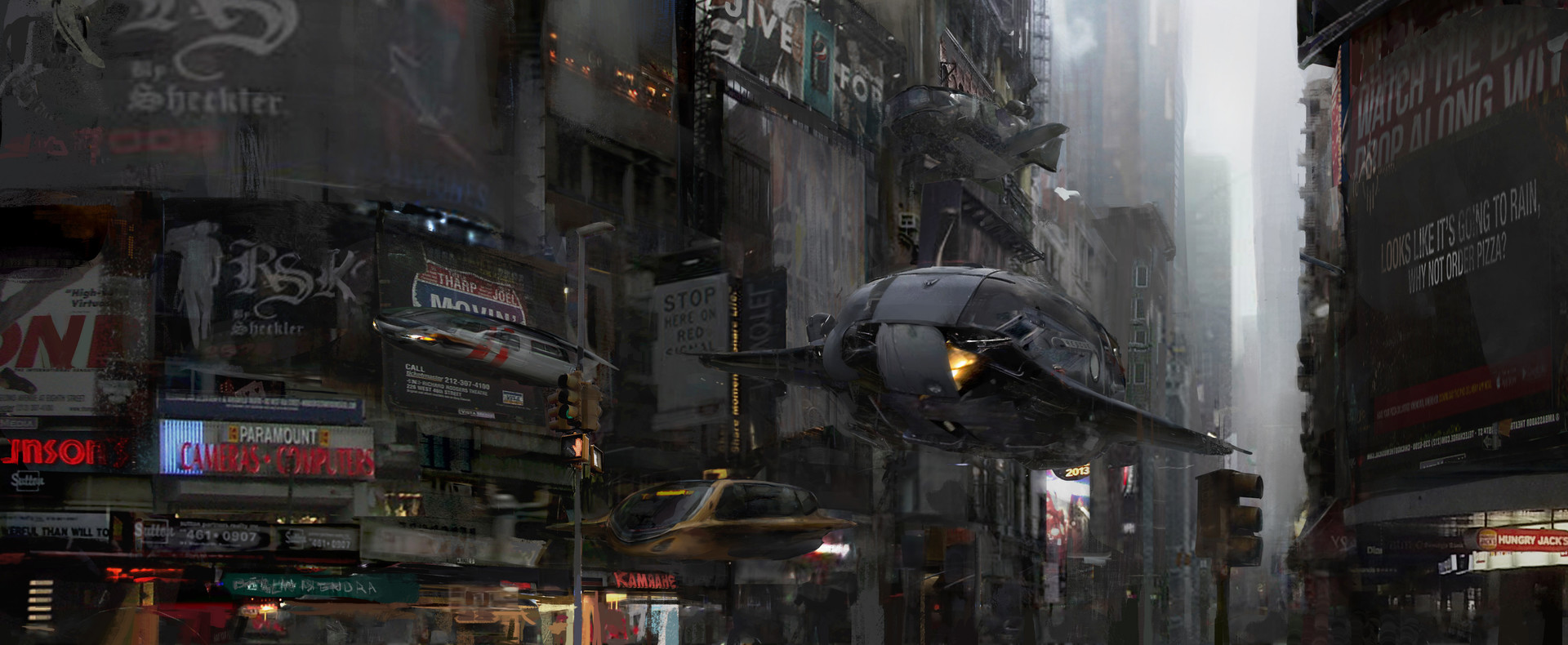 The Sci-Fi & Fantasy Art of Yu Chao Cheng