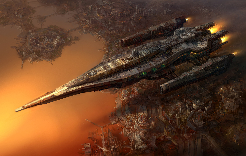 The Magnificent Sci-Fi Art of Jae Cheol Park