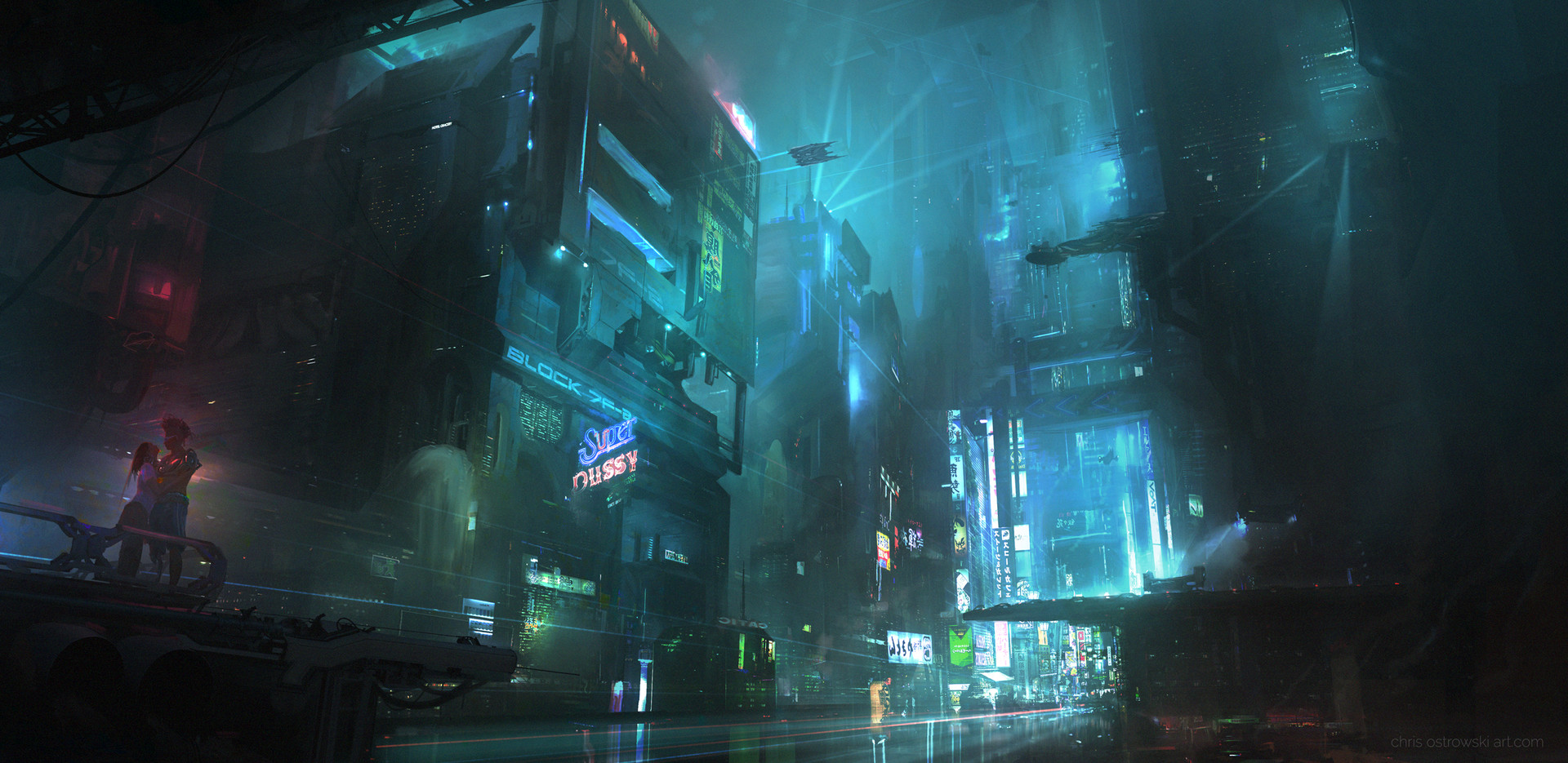 The Impressive Digital Art of Chris Ostrowski