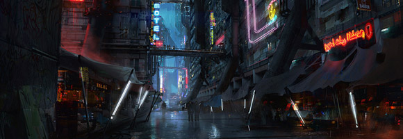 The Stunning Futuristic Art of Benjamin Last