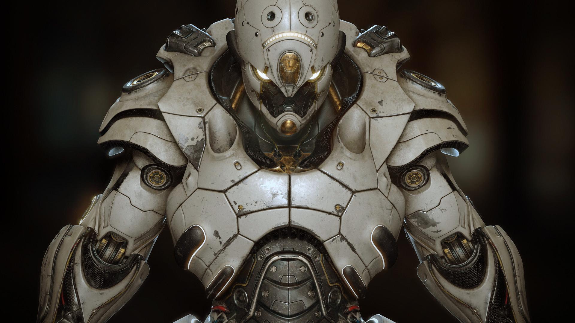 The 3d Robot Art of David Letondor