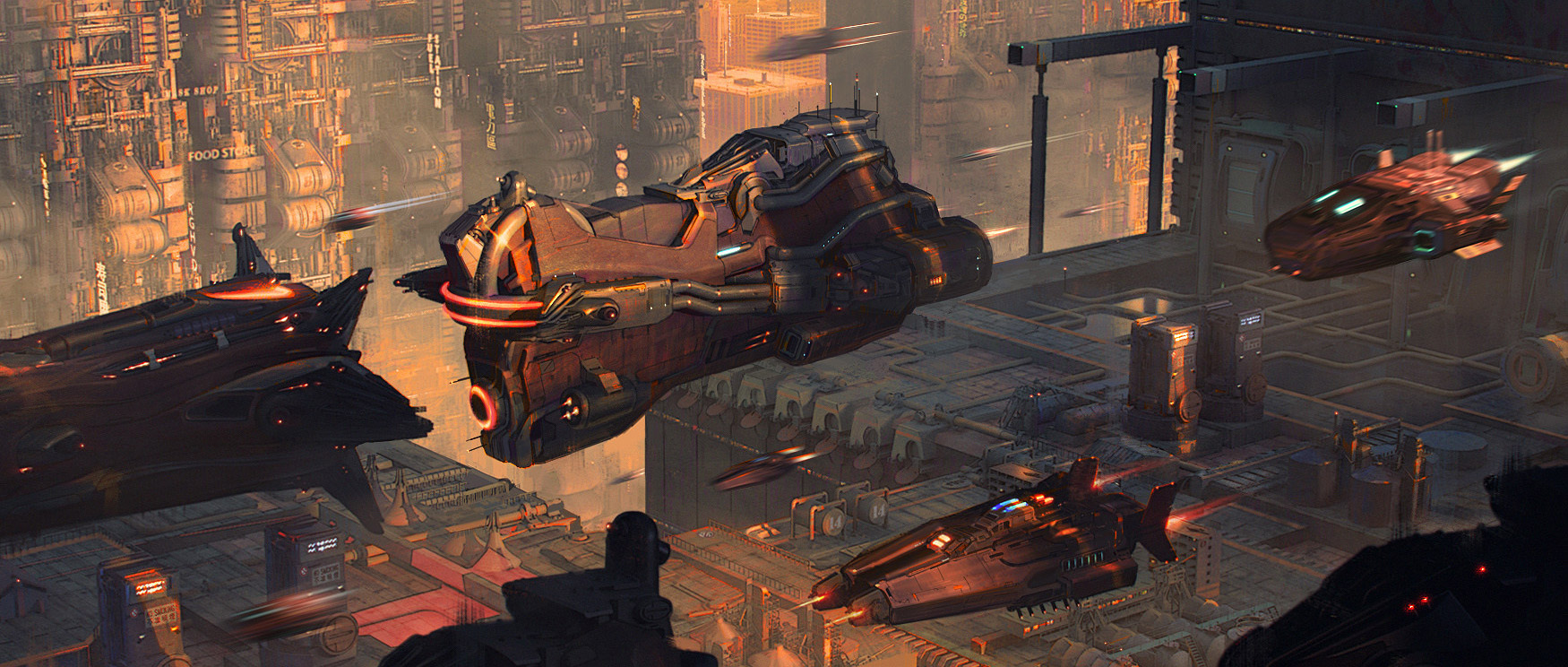 The Sci-Fi Art of Gary Haimeng Cao