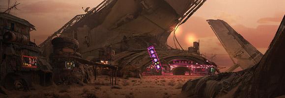 The Futuristic Sci-Fi Art of Eddie Mendoza