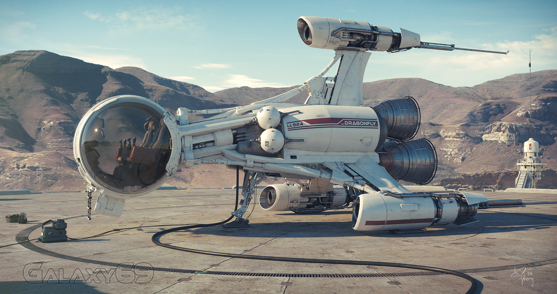 The Super Impressive Sci-Fi Art of Kim Syberg