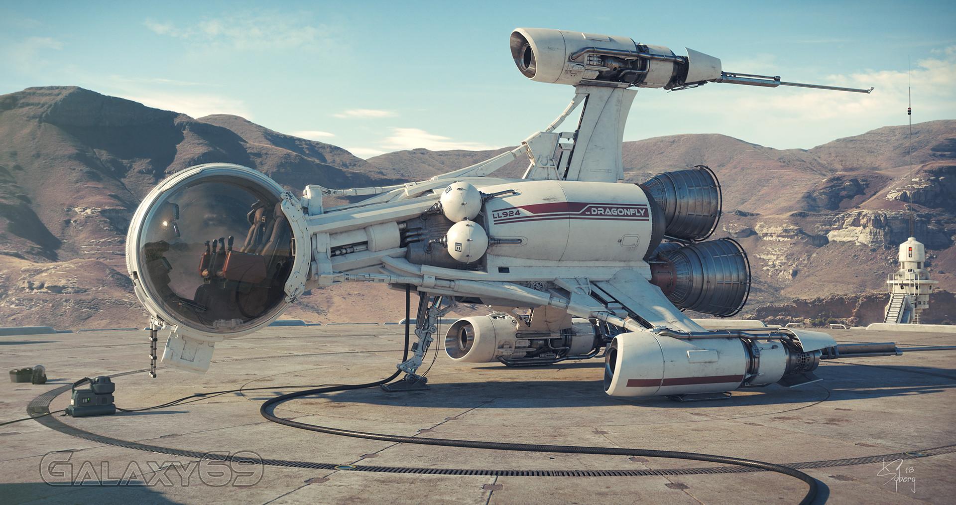 The Super Impressive Sci-Fi Art of Kim Syberg