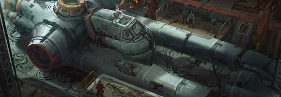 The Science Fiction Art of Mark Zhang