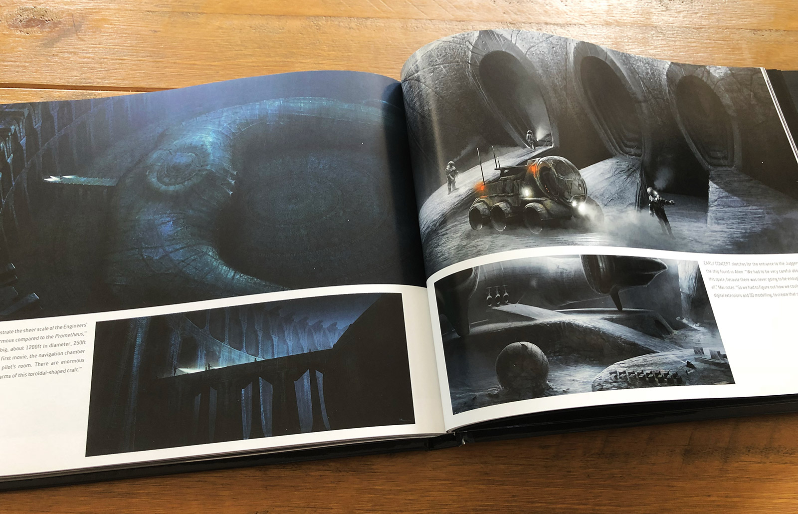 Prometheus: The Art of the Film Book Review