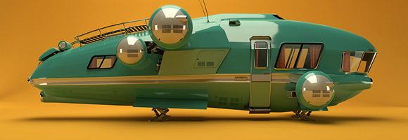 The Digital Sci-Fi Art of Maarten Hermans