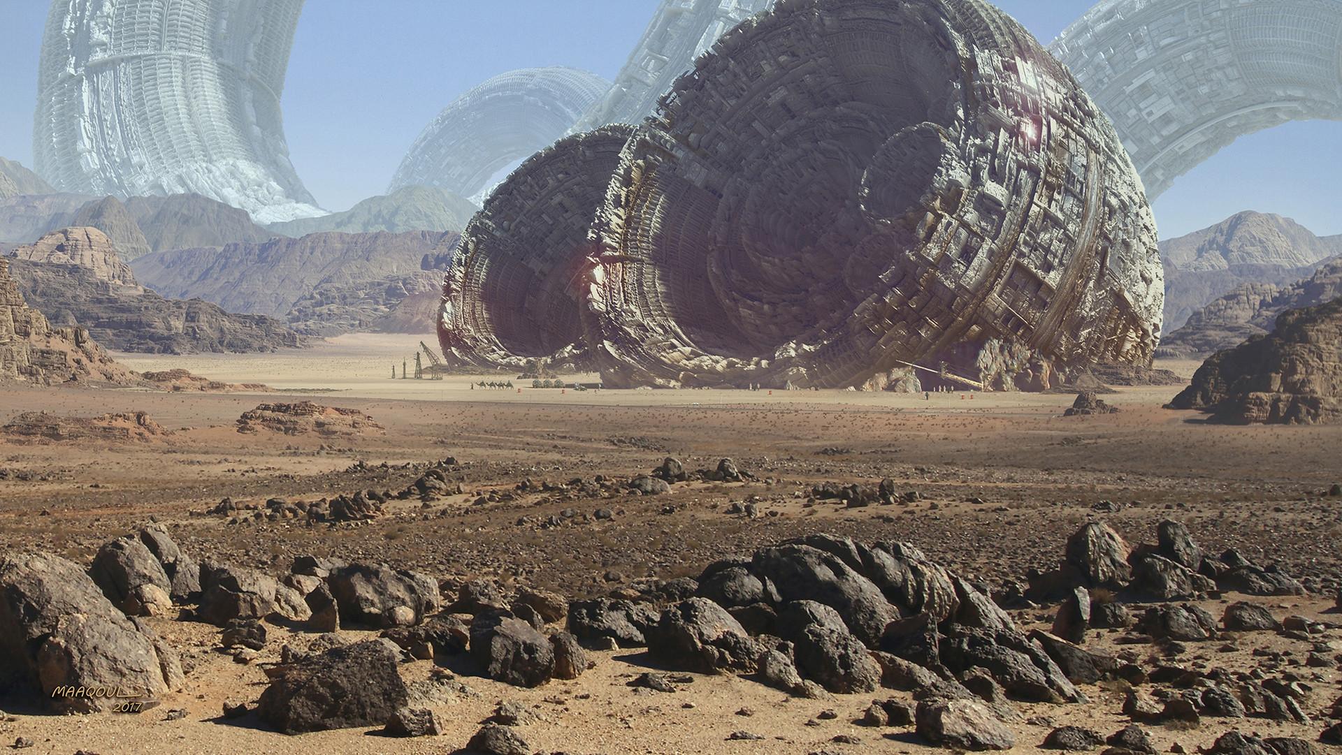 The Sci-Fi & Fantasy Art of Aziz Maaqoul