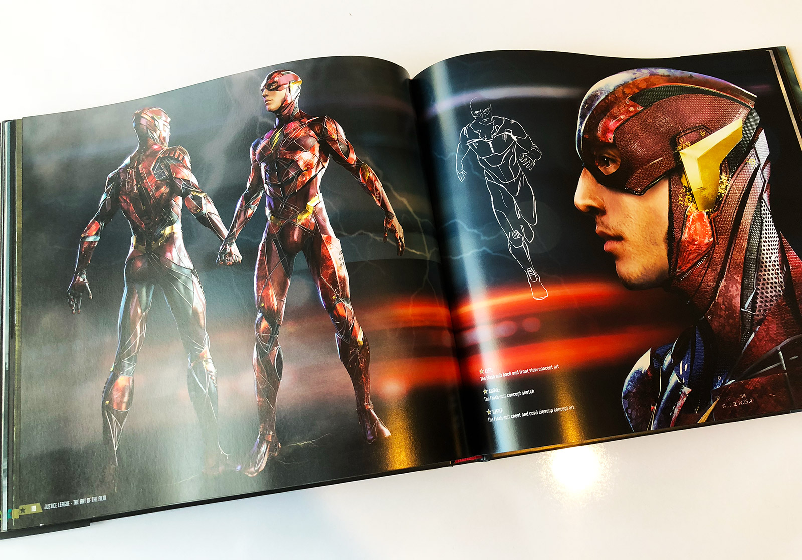 Justice League: The Art of the Film Book Review