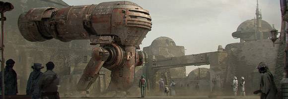 Star Wars & Sci-Fi Art by Ruben Alba