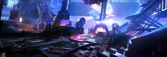 The Sci-Fi Movie Concept Art of Chris Kesler