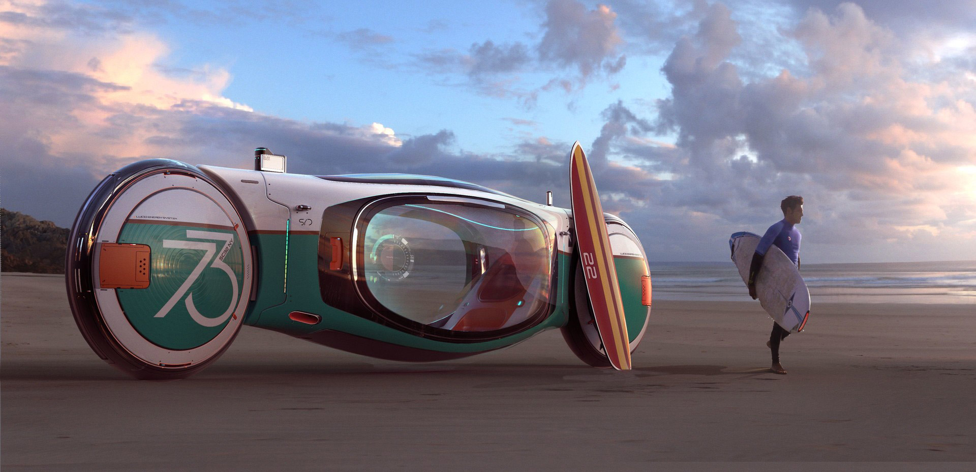 The Futuristic Sci-Fi Art of Andrian Luchian