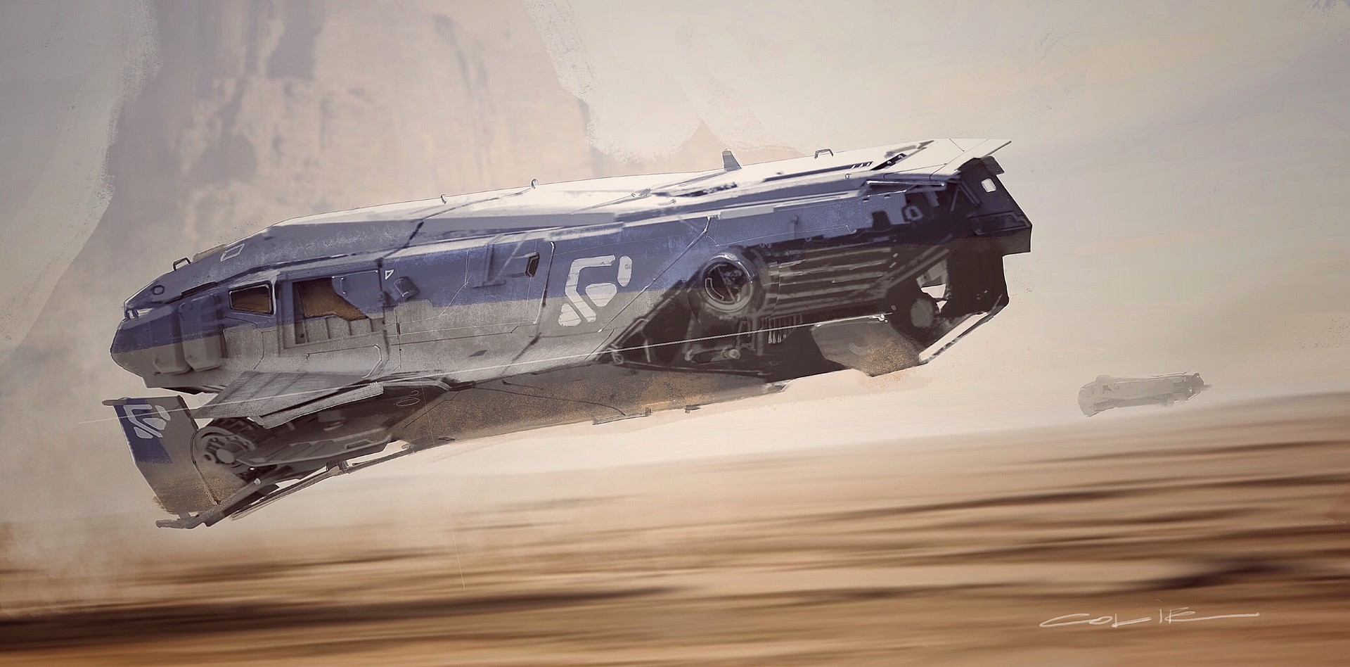 Sci-Fi Spaceship Designs by Colie Wertz