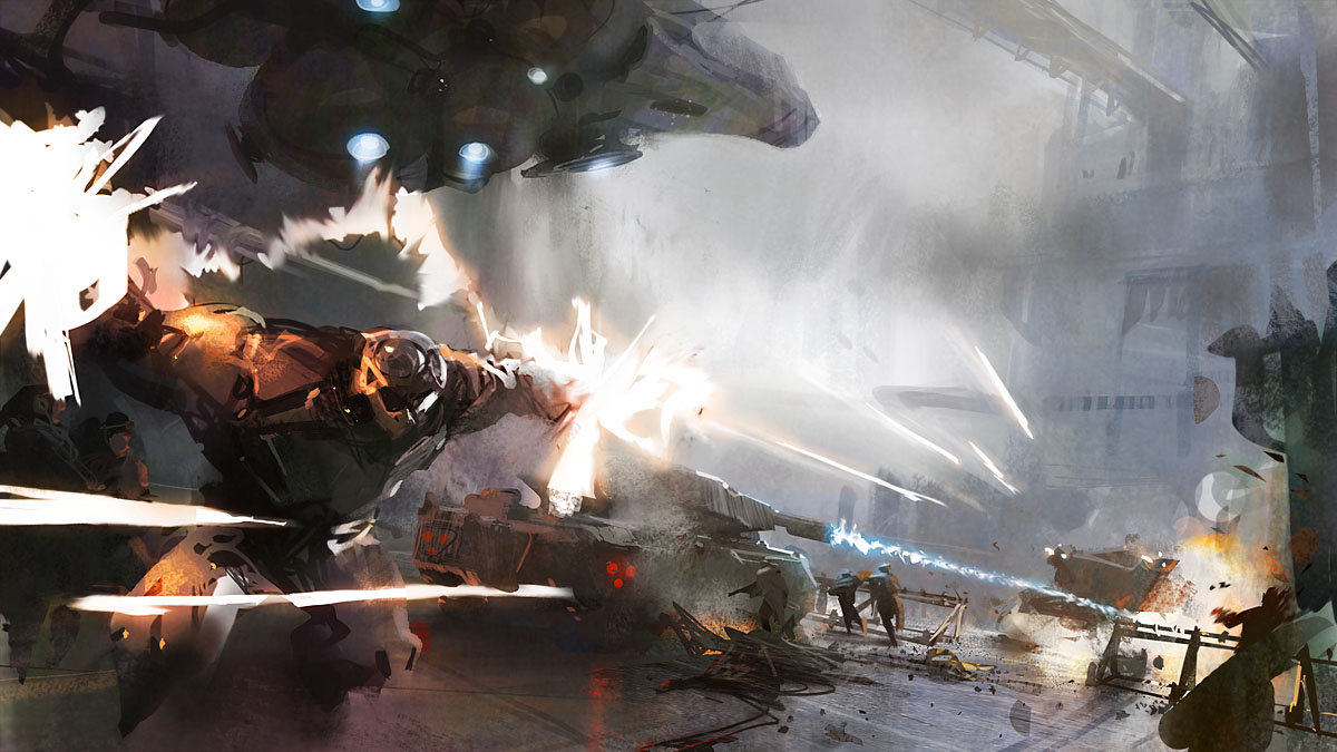 The Science Fiction Art of William Chen