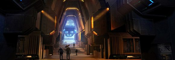 Science Fiction Concept Art of Clinton Young