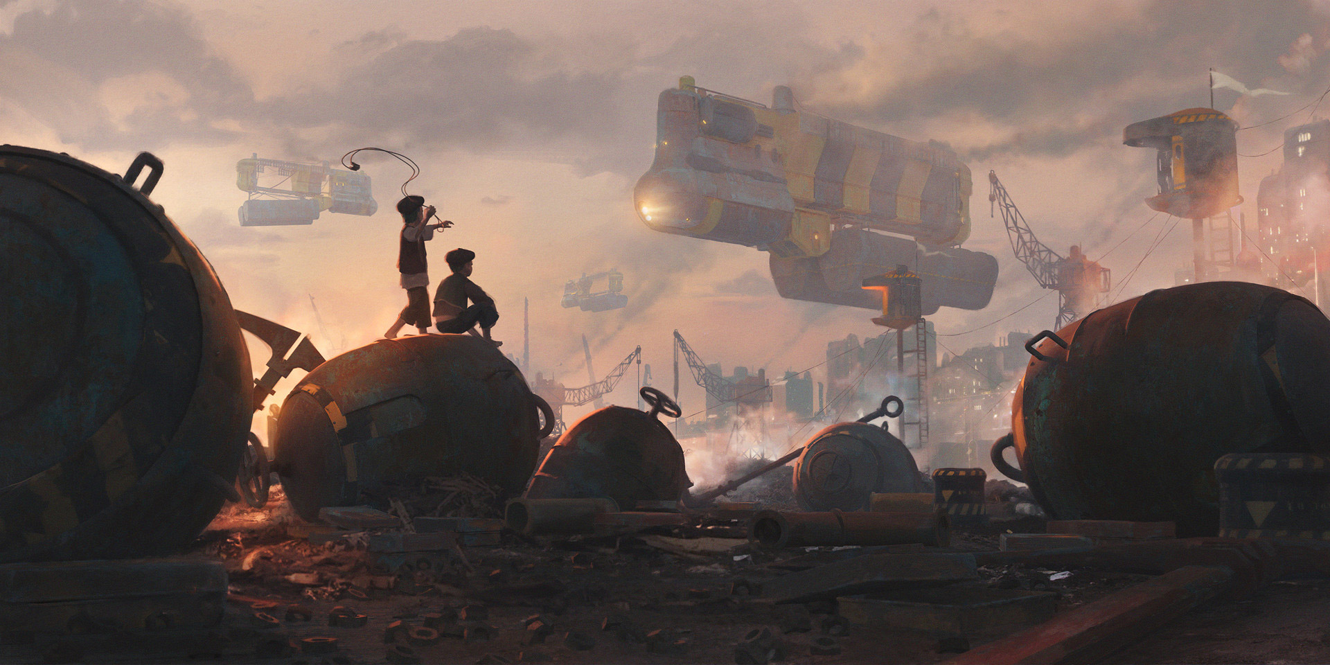 The Sci-Fi Concept Artworks of Rostyslav Zagornov