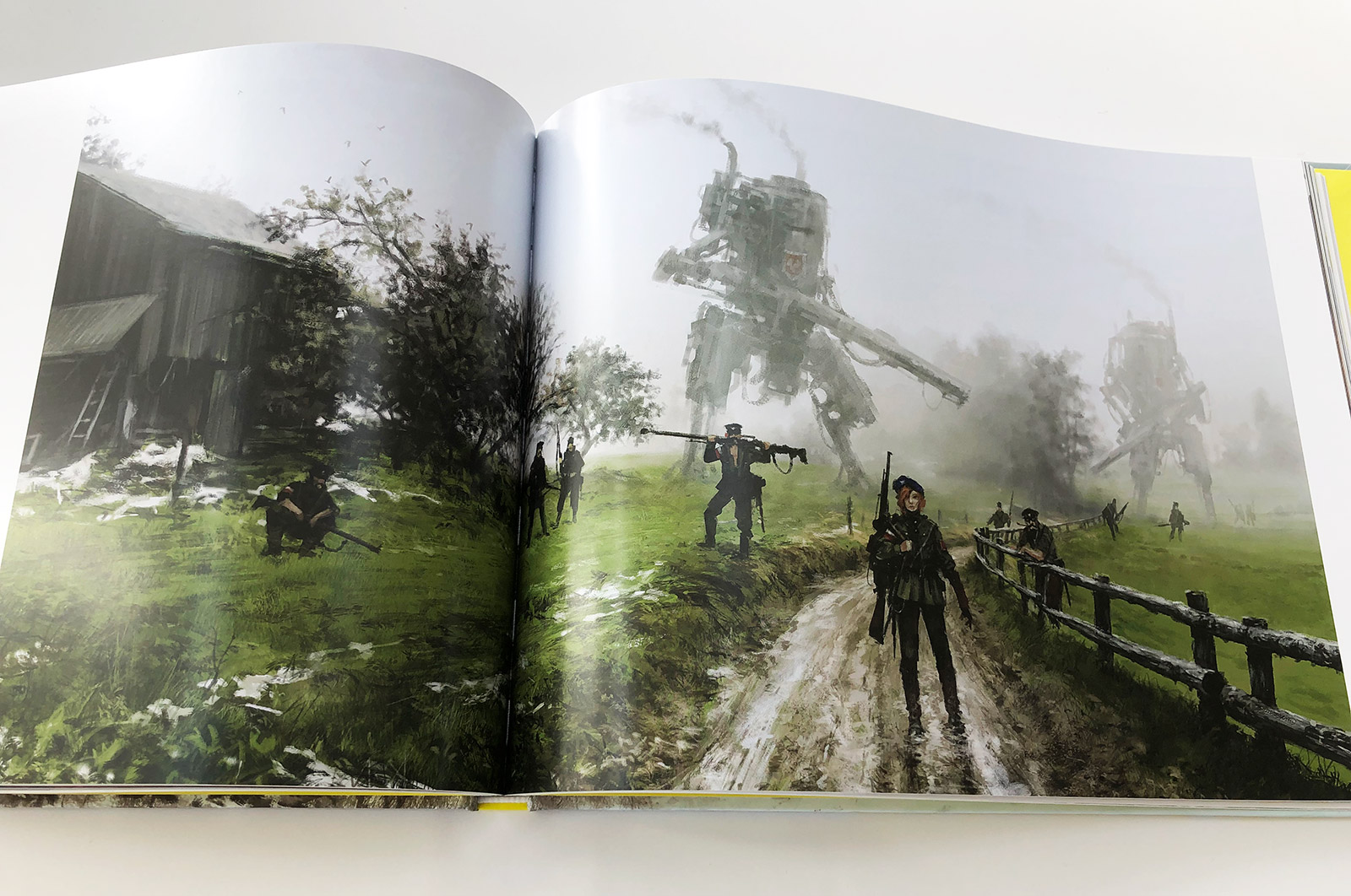 Howling at the Moon - Jakub Rozalski Art Book Review